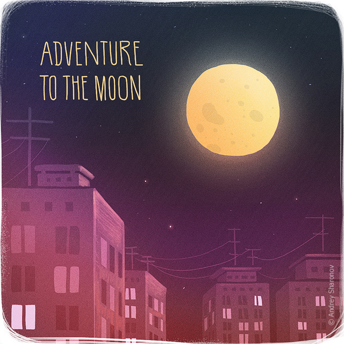 Adventure to the moon 700