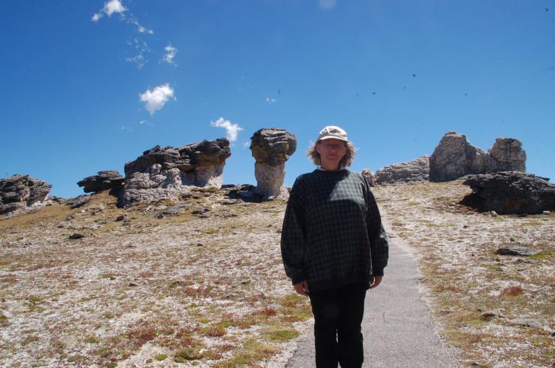 Моя супруга Галина, 2010 год, Скалистые Горы.