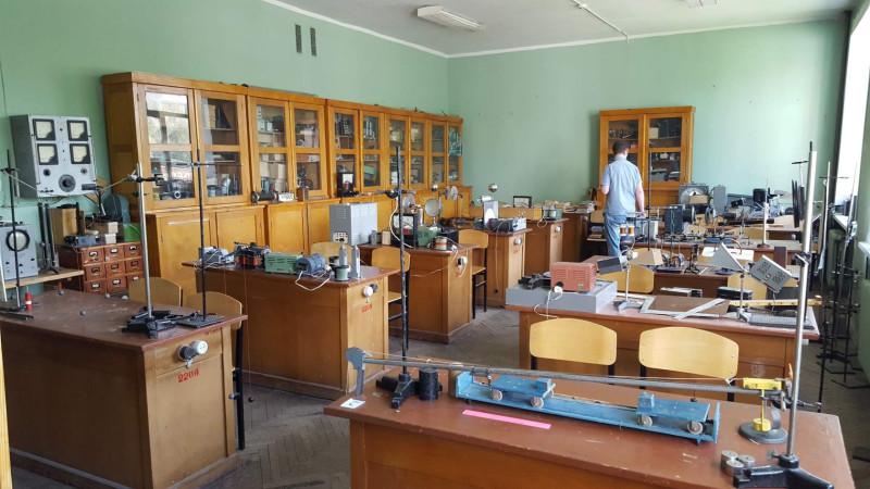 Кабинет методики физики во Владимирском пединституте