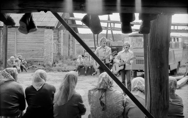 Бабушки и песняры
