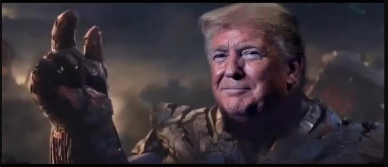 Трамп как геноцидиальный маньяк.