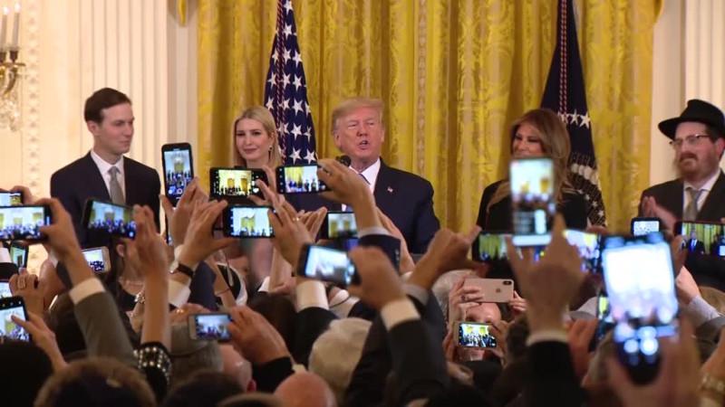 Вчера или позавчера в Белом Доме.