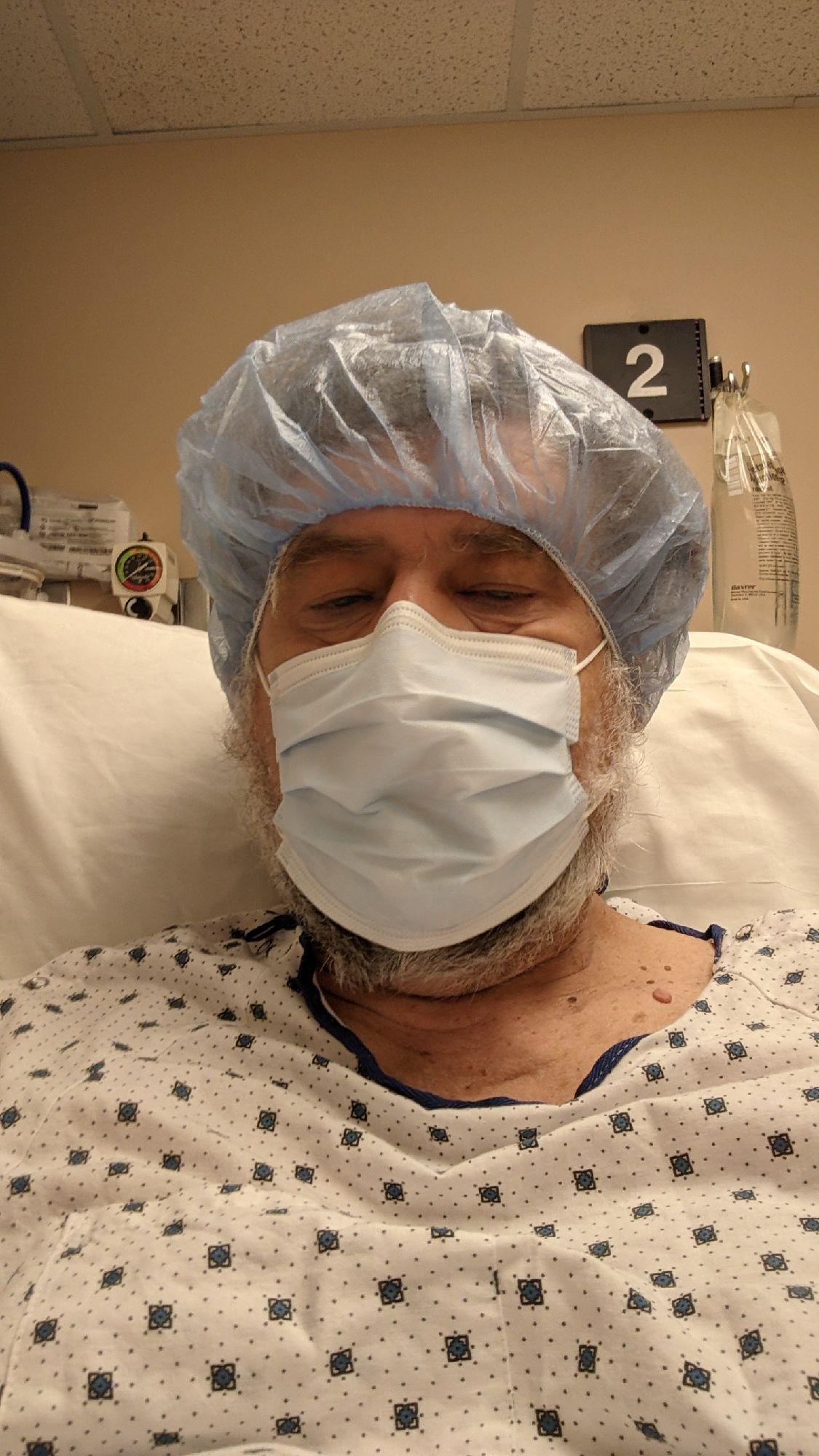 Перед операцией.