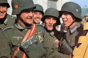 Испанский и немецкий фашисты