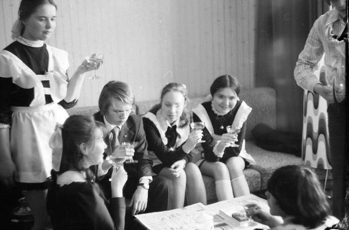 ссср школьницы фото