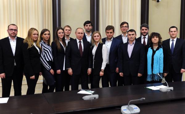Дарья Митина в гостях у Путина радовалась,что добилась проведения очередного распила бюджета