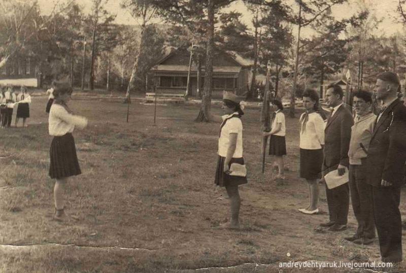 Каменка. Джупина Л.Г и Черкашин Н.И. 1960-70-е г.
