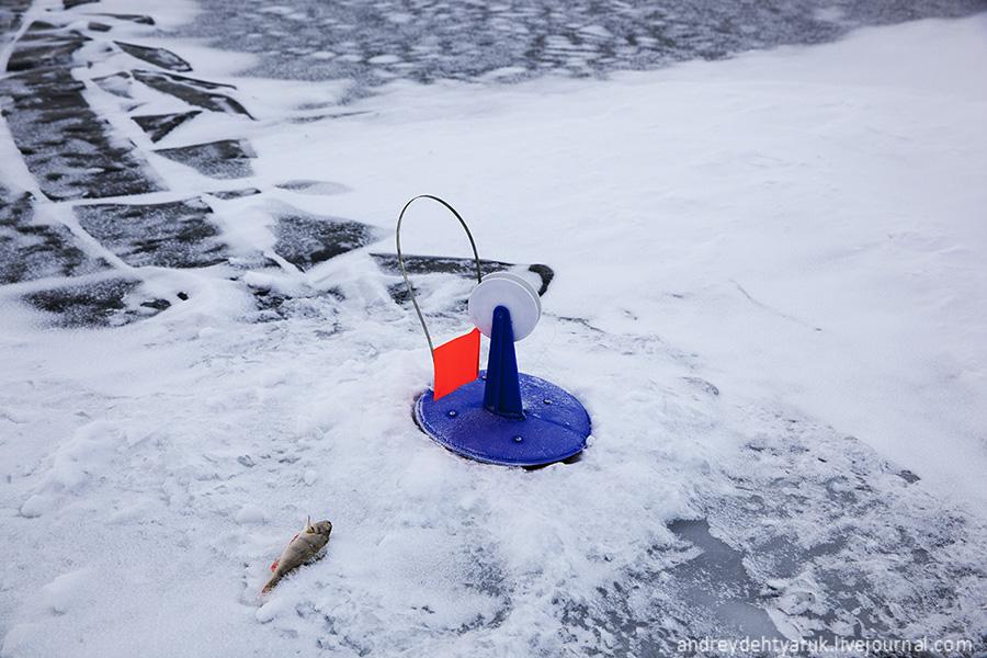 чтобы не замерзали лунки с жерлицами