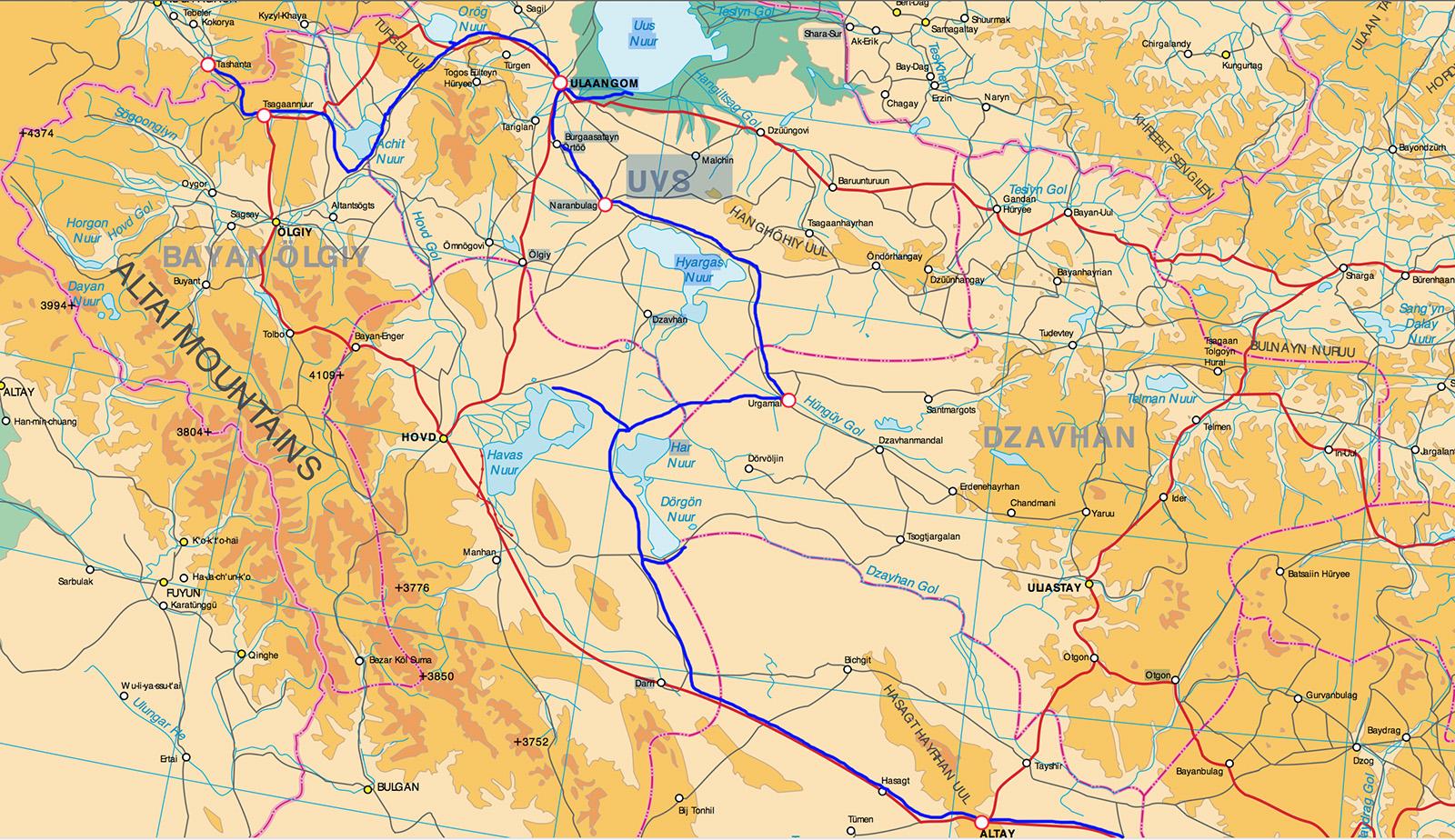 северо-запал Монголии 1