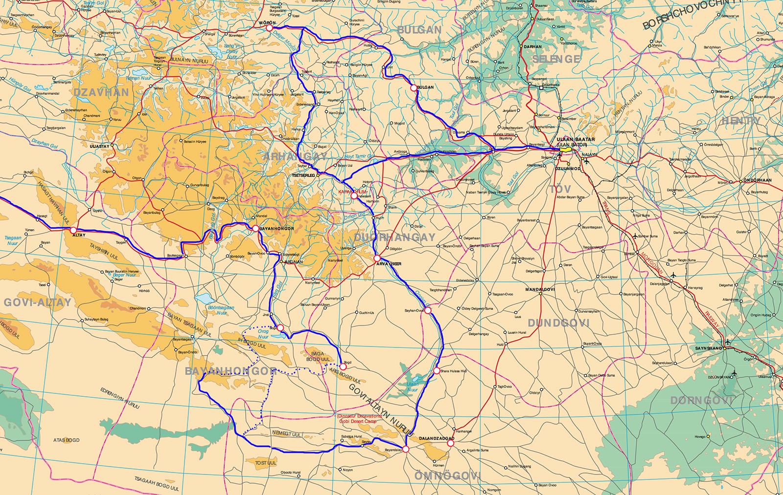 юг Монголии 1