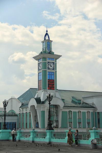 Главное здание вокзала Новосибирска