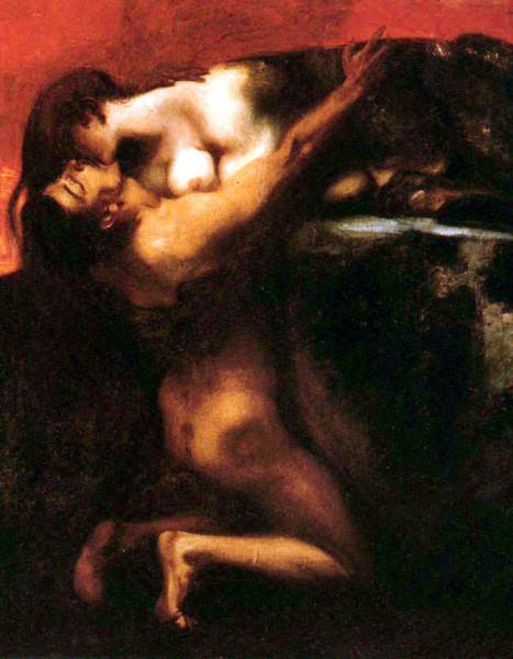 Von_Stuck_Franz_The_Kiss_of_the_Sphinx