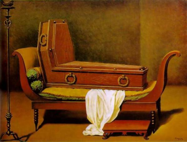 magritte--Perspective-I,-Davids-Madame-Recamier