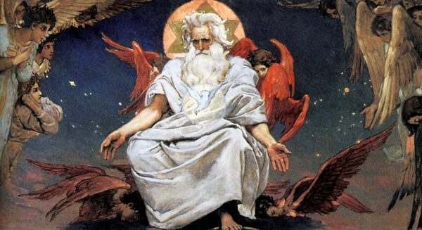 Виктор Васнецов 1885-1896 Бог Саваоф