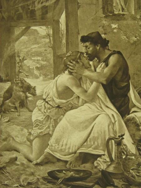 Одиссей и Телемах (1)