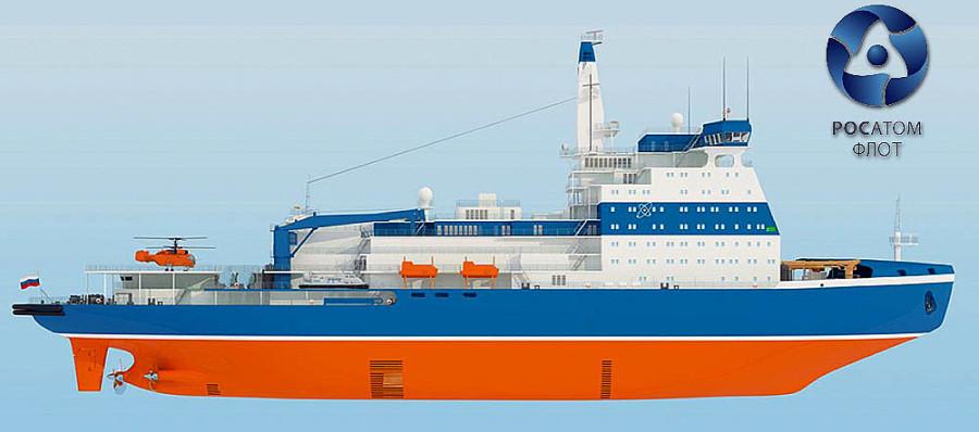 «Балтийский завод — судостроение» на котором строится самый большой в мире атомный ледокол нового поколения ЛК-60 проекта 22220 «Арктика»