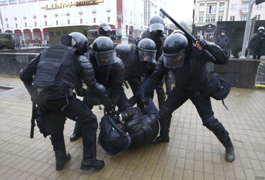 Пару мыслей о  событиях в Минске