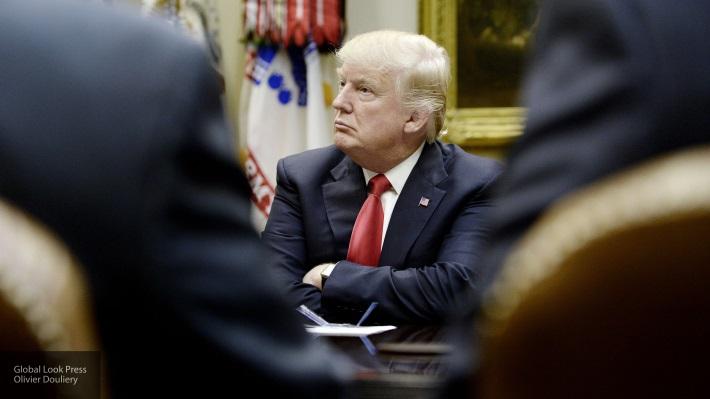 Ракетный залп по Трампу