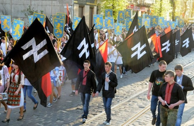 Нацистский авангард Украины