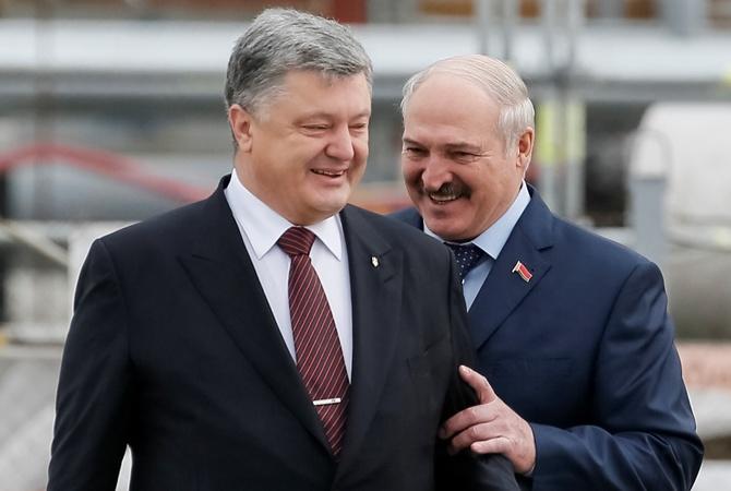 Почему Порошенко дружит с Лукашенко