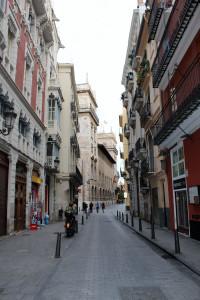 Валенсия. Улочки старого города