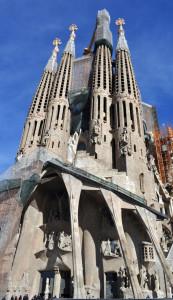 Sagrada Familia. Фасад Страстей