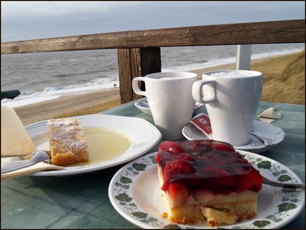 картинки море и кофе