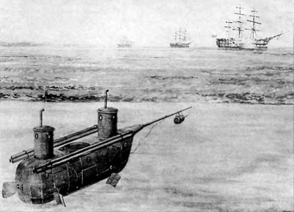 как появилось первая лодка