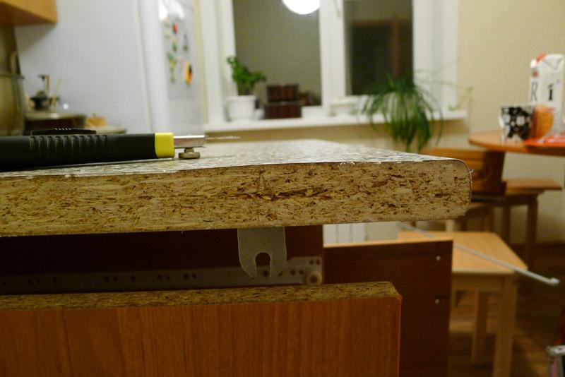 Вспучилась столешница на кухне что делать столешница luxe form l 424