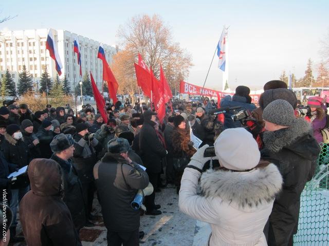 Митинг против фальсификации выборов. Самара, 17 декабря. Фото Владислава Волкова