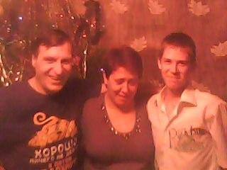 Калин Никита с отцом и матерью