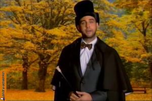 Иван Ургант в образе Пушкина об итальянской забастовке в Госдуме  vecher-urgant