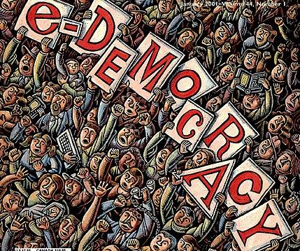 Россия увеличила расходы на электронную демократию