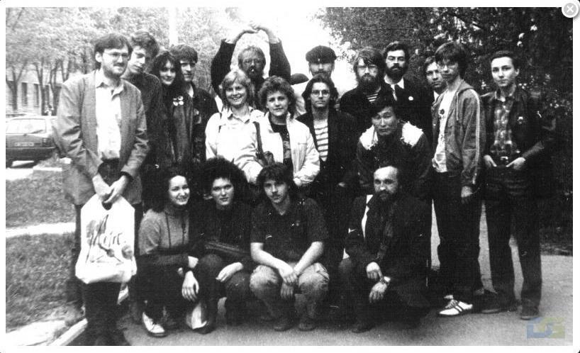 Участники Первого съезда Конфедерации Анархо-Синдикалистов (май 1989-го)