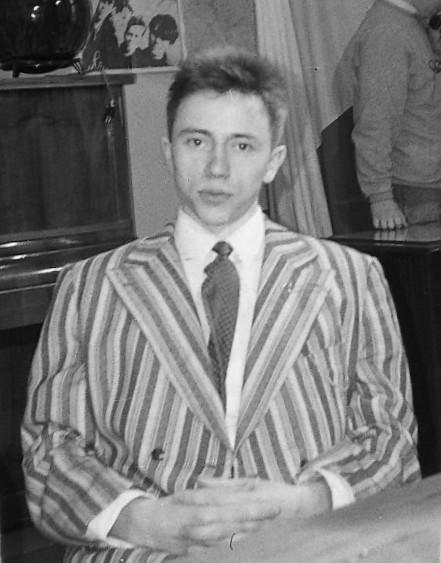 Андрей Чечков в 1991 году