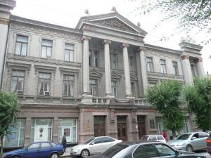 Самарский областной художественный музей, бывший Дворец труда