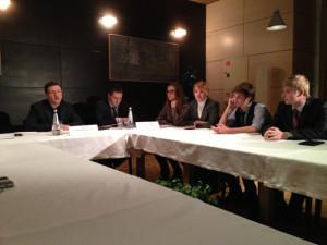 Встреча блогеров с мэром Самары Дмитрием Азаровым 14 декабря (фото seleste-rusa)