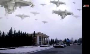 Видео НЛО. Летающие тарелки над Сызранью!