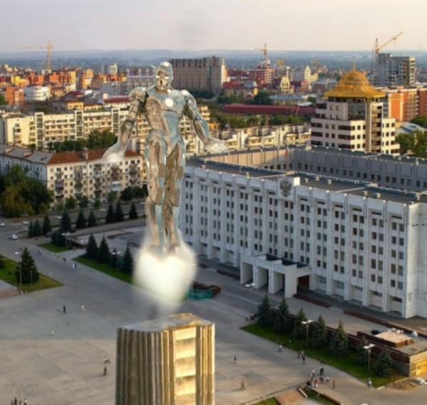 Железный человек -5: Алюминевый клон из Samara ;)