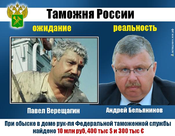 У главы Ростаможни найдены около 10 миллионов рублей и валюта