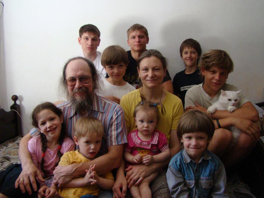 Вся семья в сборе