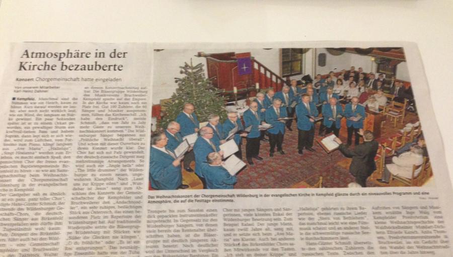 Zeitung_Chor