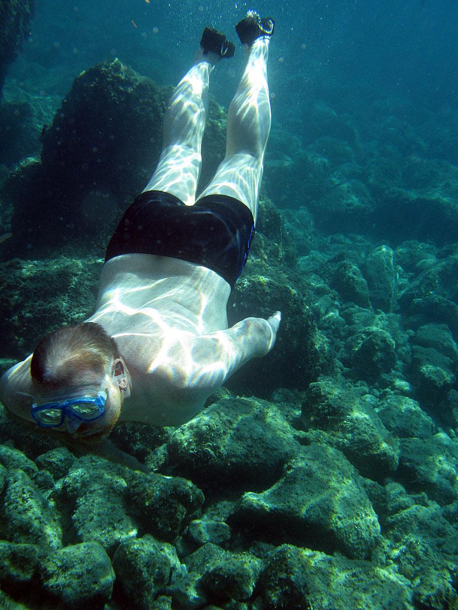 Андрей Блинушов. Адриатическое море. Хорватия. Южная Долмация. Район деревни Вигань (Viganj)