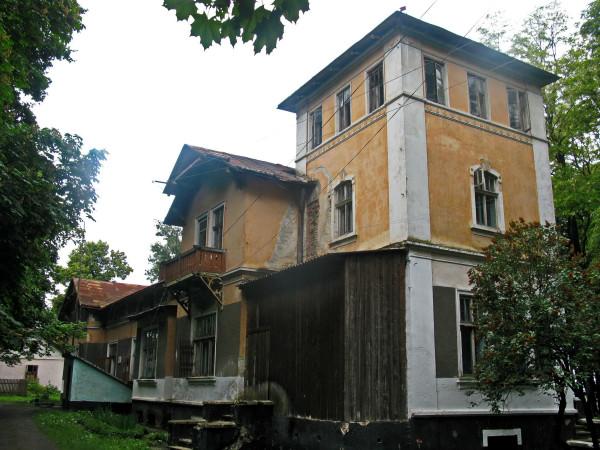 13 Вашквці. Палац Криштофовичів