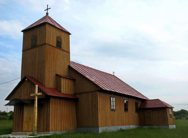12 Давидівка. Маріацький костел