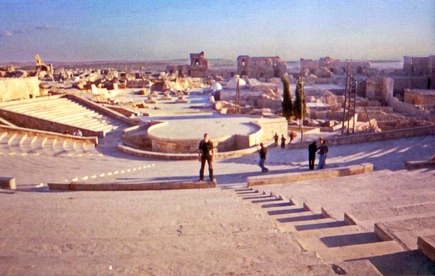 Алеппо  Амфитеатр в цитаделі