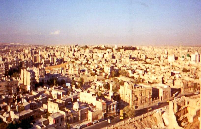 Алеппо Вид на місто з цитаделі