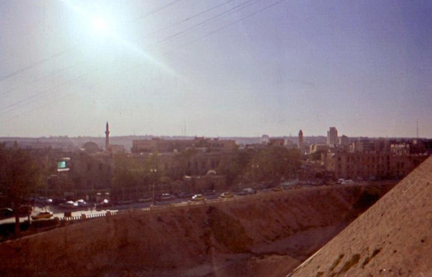 Алеппо Виж на місто з цитаделі