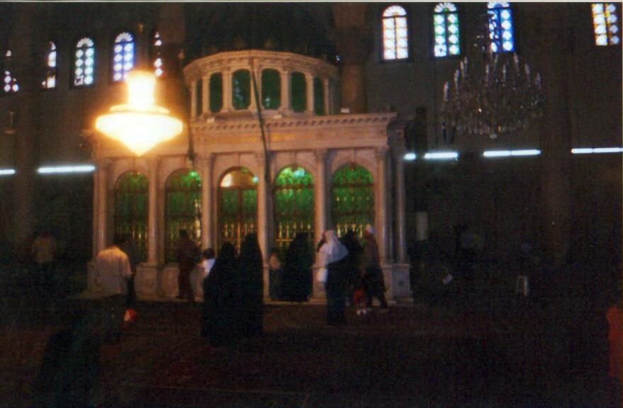 12 Дамаск Часовня головы Иоанна крестителя.jpg