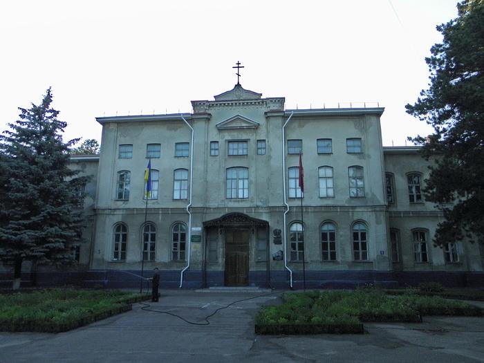 Олександрівська чоловіча гімназія Пансіон Учбовий корпус.JPG
